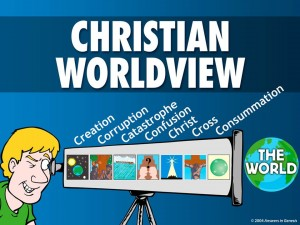 christian worldview Christian worldview (also called biblical worldview) refers to the framework of  ideas and beliefs through which a christian individual, group or culture interprets .